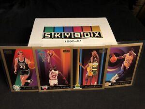 1990-91 Skybox Basketball Series 1 COMPLETE SET #1-300 *MICHAEL JORDAN* MINT