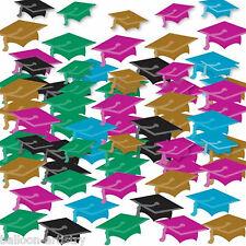 2 SACCHETTI COLORATI laureato caps cappelli graduazione PARTY CORIANDOLI tabella sprinkles