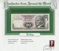 World Banknotes Turkey 50 Lirasi 1970 (1983) UNC P 188 Prefix I83