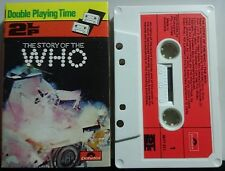 The Who`The Story Of The Who` 2 LP Cassette 1976 Polydor 3577311  Classic Rock