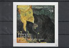 Granada Granadinas 2014 Mnh Mundo famosas pinturas 1v Imperf S/s Ii Van Gogh