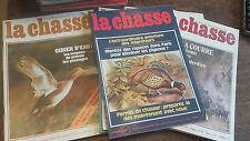 lot de 10 La revue nationale de la chasse 1978