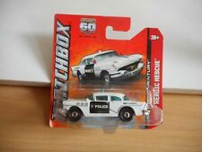 Matchbox 1956 Buick Century Police in White on Blister