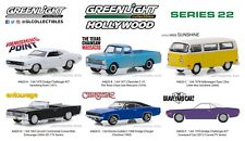 Greenlight Hollywood Series 22 1/64 Scale Diecast Model Car (Set of 6) 44820