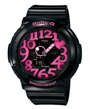 Casio Baby-G * BGA130-1B Neon Illuminator UV LED Gloss Black COD PayPal