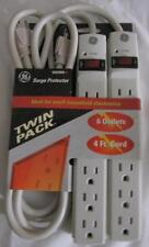 GE SURGE PROTECTOR 6 OUTLET 4' POWER CORD