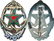 R.I.C.M, étoile rouge et verte, ajouré, (centenaire) matriculé, Pichard Balme