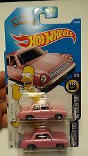 Simpsons Family Car Hotwheels
