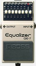 Boss GE-7 Equalizer Pedal DIY Mod Kit for Boss pedal - Pedal Upgrade Kit...