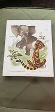 Vintage Playskool Little Golden Book Saggy Baggy Elephant Frame Tray Puzzle
