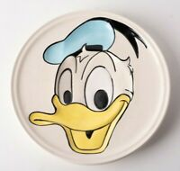 Vintage Walt Disney Decorative Ceramic Wall Plate Hanging 3D Donald Duck Rare