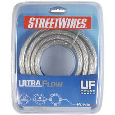 StreetWires UFX407S 4 AWG Power Cable Clear 7 ft.