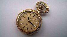 CITIZEN  - Umhänge-Uhr / kleine Taschen-Uhr / Hochzeit - mit Rosenmotiv