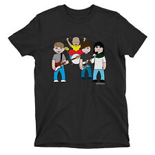 Kids VIPwees T-Shirt Madchester Pioneers 80s Indie Guitar Boys Girls Music Tee