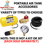 Air Tank Accessories Valve Hose Tire Chuck Portable Gauge Manifold Multiple Type