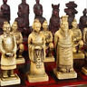 2019 Chinese 32 pieces chess set box Xian Terracota Warrior' **Free shipping**