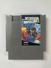 Mission Impossible Nintendo NES Authentic OEM Game Cartridge Only - Tested