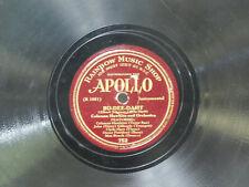 Coleman Hawkins 78 Bu-Dee-Daht bw Yesterdays   Apollo VG+ jazz
