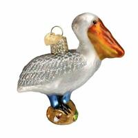 Pelican Blown Glass Old World Christmas Ornament 16073 FREE BOX