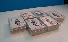 "~Lot of 6~Carnival Mini Decks~Miniature Playing Cards~2.25"" x 1.5""~New!"