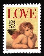 US - Single - Sc #2957 - 32c - Love - MNH
