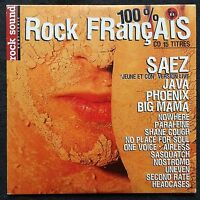 Compilation ‎CD 100% Rock Français N°4 - Promo - France (EX+/M)