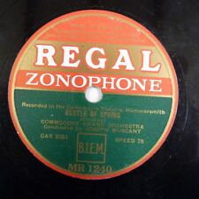 78rpm COMODORE GRAND ORCHESTRA J MUSCANT rustle of spring / knave of diamonds