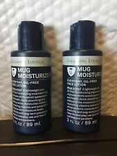 Grooming Lounge Mug Moisturizer Everyday Oil Free Face Lotion 2pc 3oz each
