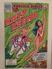 Archie KATY KEENE SPECIAL #11 (1985) Bikini, King Neptune, Vince Colletta