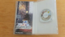 Final Fantasy Tactics - The War of the Lions PSP Game With Manual