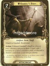 Lord of the Rings LCG - 1x Gandalf 's staff #008 - The Road trotamundos