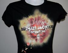 WOMENS MICHAEL JACKSON IMMORTAL WORLD TOUR T SHIRT LARGE CIRQUE DE SOLEIL