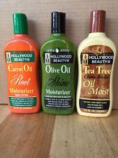 HOLLYWOOD BEAUTY OIL MOISTURISING HAIR PRODUCTS