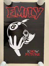 EMILY THE  STRANGE,'KNOW FUTURE',COSMIC DEBRIS,AUTHENTIC 2007 POSTER