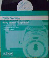"""Flash Brothers ~ Brumeux Mars/capturé ~ 12"""" SINGLE PS disque deux"""