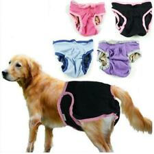 Washable Dog Diaper Female Breeds Pet Pants Clothes Sanitary Underwear XS-XL
