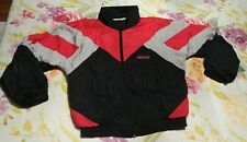 VTG JORDACHE Mens Jacket SZ Small Windbreaker Track 80's Retro Logo Colorblock