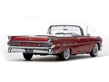 Pontiac 1959 Bonneville Open Convertible in Mandalay Red by Sunstar 1.18 scale