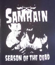 "PATCH - Samhain ""Season of the Dead"" - HORROR punk rock - Danzig Misfits Initium"