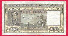 100 Francs 03.11.49 DYNASTIE // LEOPOLD I  Entrée du roi à cheval