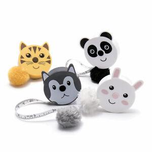 Cute & Fluffy Retractable Tape Measure Cracker Filler Gift