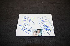 Sylver signed autógrafos a 10x15 cm tarjeta de índice inperson Look