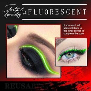 Wiederverwendbare Make-up Eyeliner Lidschatten Mode Aufkleber 6 Paar-