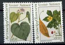 United Nations Vienna 1990 SG#V100-1 Medicinal Plants MNH Set #E7316
