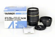 Excellent++ TAMRON AF 18-200mm f/3.5-6.3 LD MACRO Di II A14P for PENTAX
