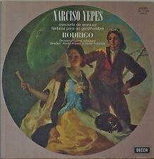 RODRIGO: Concierto de Aranjuez/Fantasia para un Gentilhombre-FR IMP 1959LP YEPES