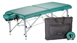 NEW EarthLite Luna Portable Masseuse Massage Table Package