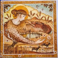 hare greetings card daughter mother hare wendy andrew pagan lammas goddess wicca