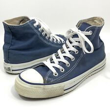 Vintage USA-MADE Converse All Star Chuck Taylor Shoes Blue Size M 6.5 W 8.5