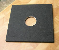 genuine earlier Sinar F & P  lens board panel with copal 0 compur 35.3mm hole